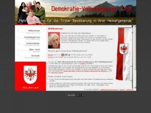 Demokratie-Volksbegehren Tirol  2008
