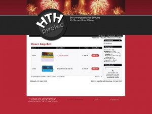 WebShop HTH pyrotec - Reith i. A. 2007