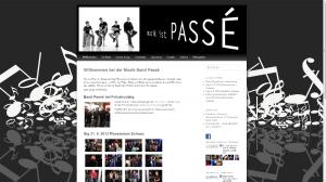 Musikband PASSÉ - 2012