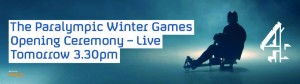 Channel 4 - Paralympic Winter Games 2014 in Sochi