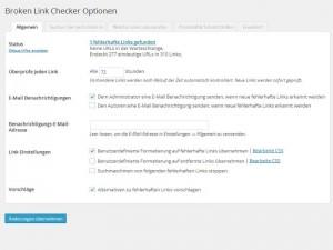 Broken Link Checker - Allgemein